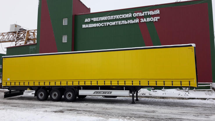 Шторные полуприцепы 16,5м STEELBEAR – экономия на каждом рейсе: пользуются спросом в Сибири!