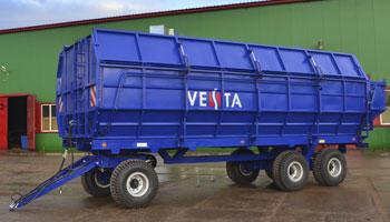 Сельскохозяйственная техника VESTA – успешный проект STEELBEAR!