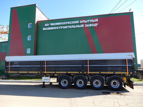 Обновленная линейка полуприцепов зерновозов STEELBEAR